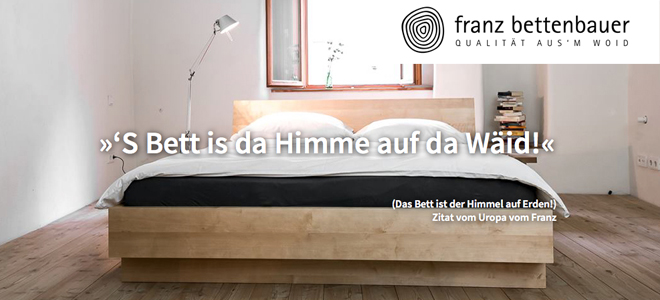 5 aufrechte und franz der bettenbauer lohas. Black Bedroom Furniture Sets. Home Design Ideas